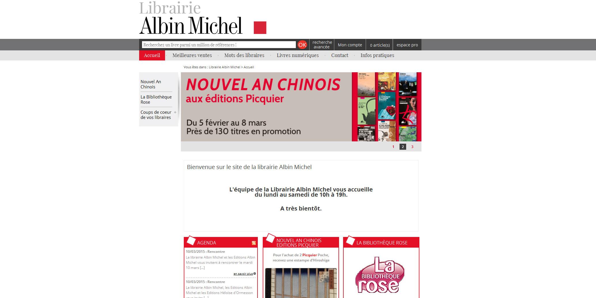 Librairie Albin Michel